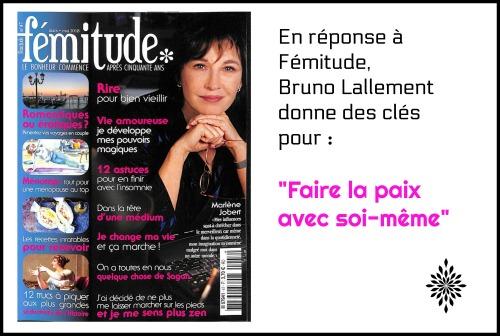 interviews autour Bruno Lallement, femitude mai 2018