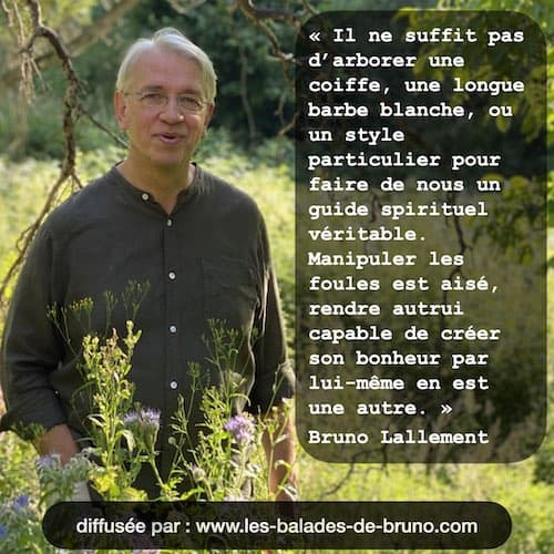 citation sur la méditation par Bruno Lallement
